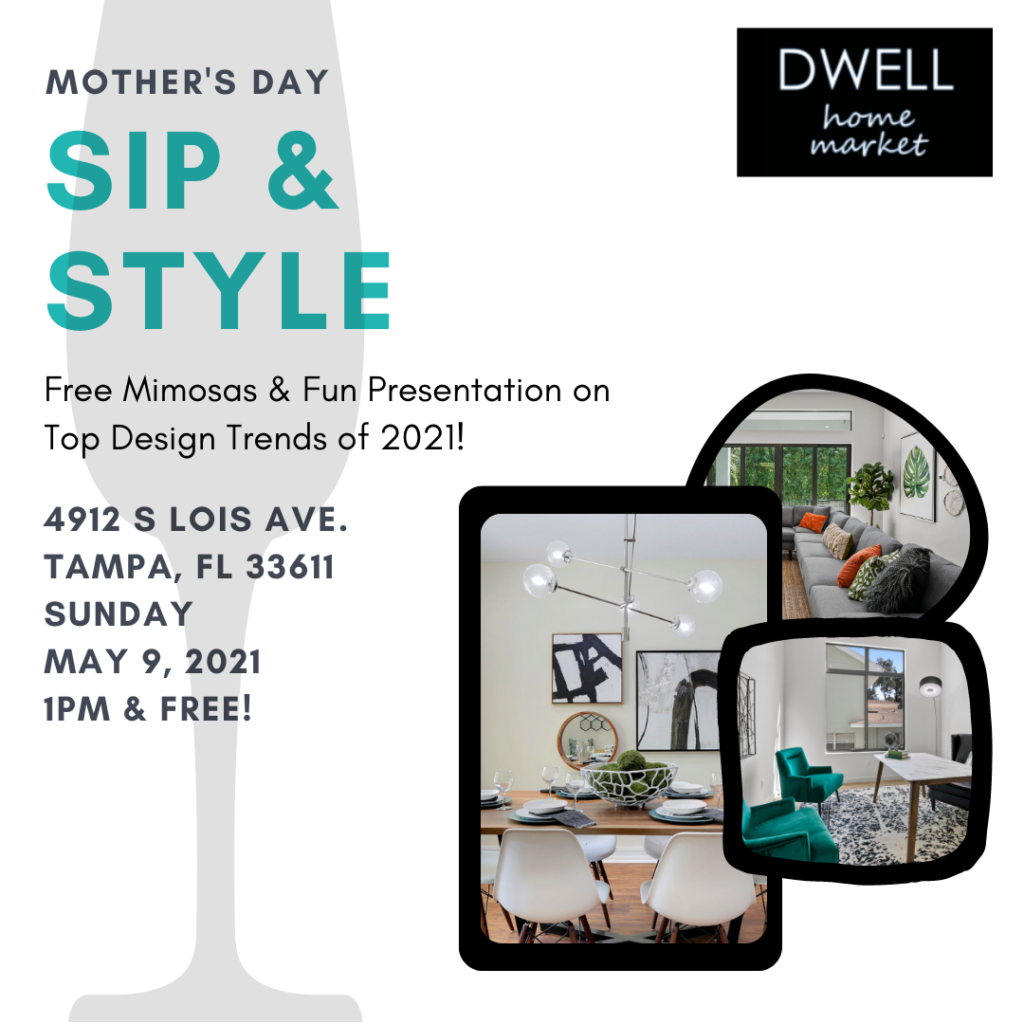 Dwell Home Market sip-and-style